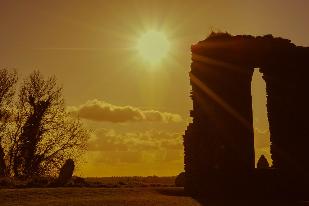 Sunset at Skryne, Meath
